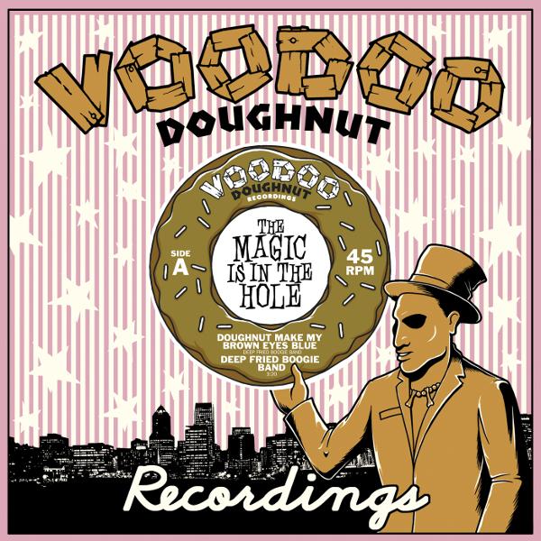 Deep Fried Boogie Band   Doughnut Make My Brown Eyes Blue b/w (Return of The) Tokyo Cowboy