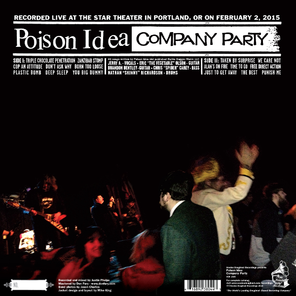 Poison Idea | Company Party -- Reverse