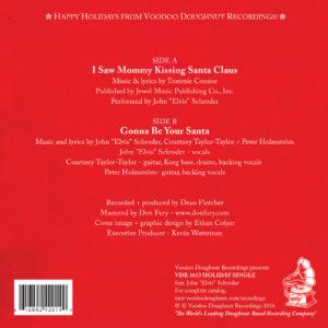 VDR Holiday Single -- Album Cover