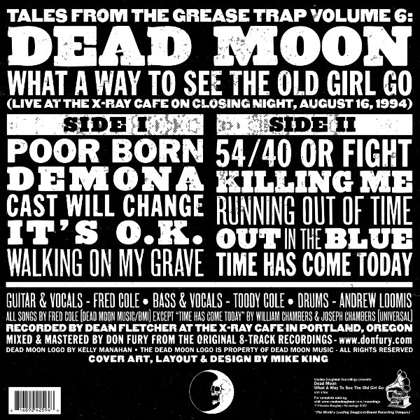 Dead Moon | What a Way to See the Old Girl Go | Reverse